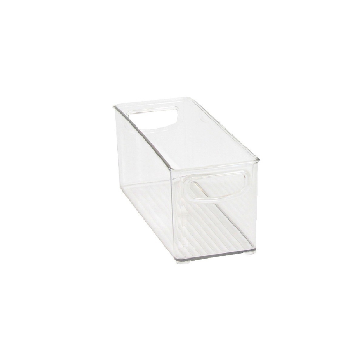 Bac empilable et transparent pour placard rangement - Placard plastique rangement ...