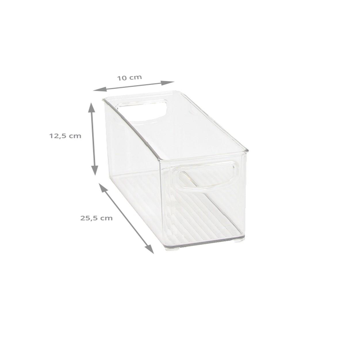 Bac empilable et transparent pour placard rangement - Bac plastique transparent ikea ...