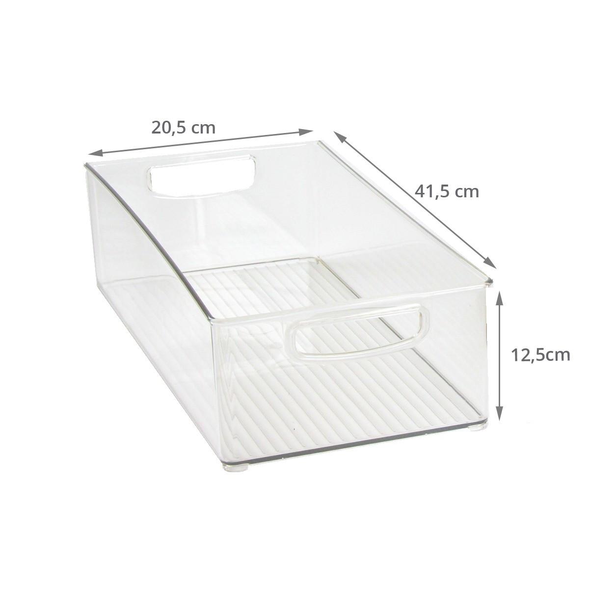 Bac empilable et haut pour placard rangement cuisine - Placard plastique rangement ...