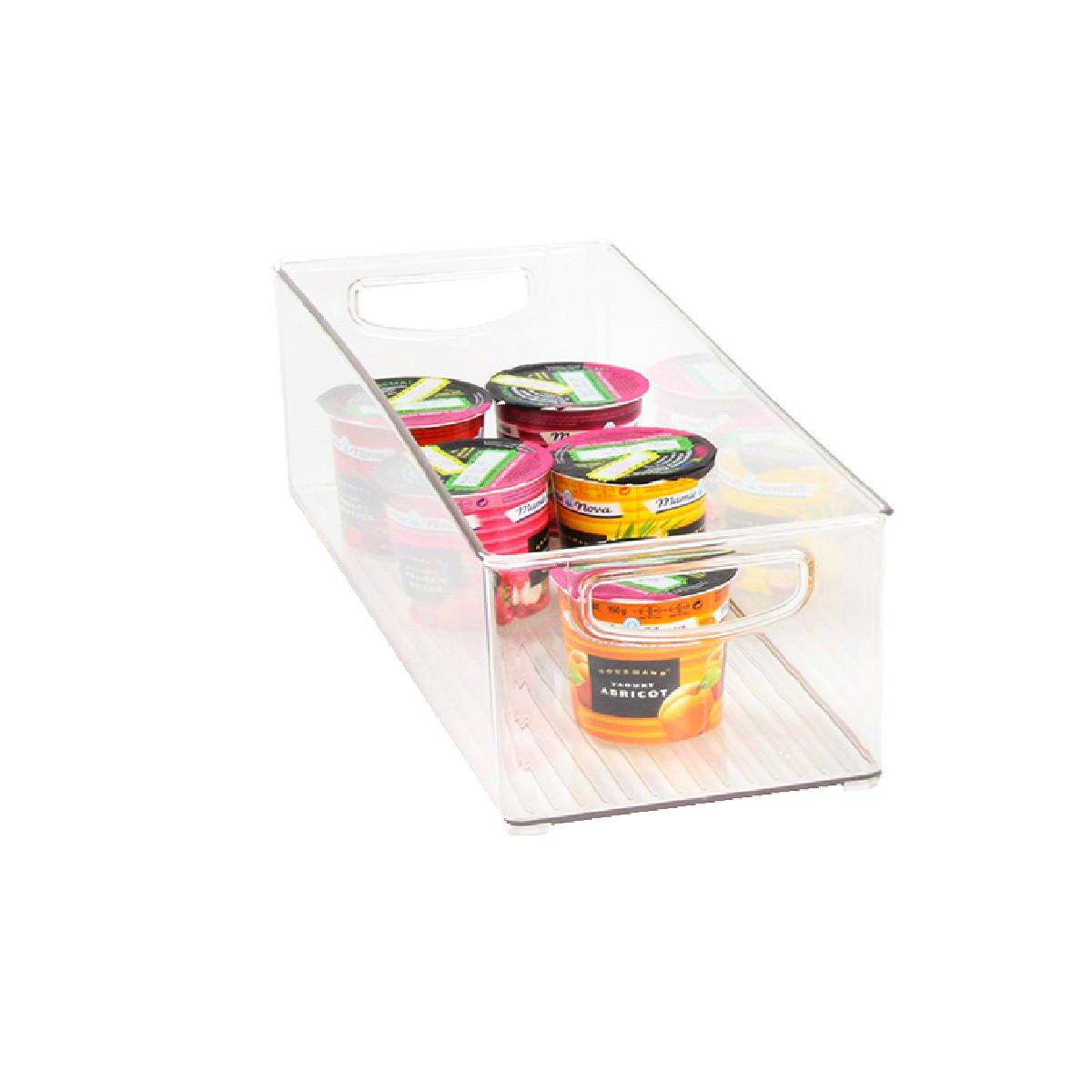 Bac haut transparent pour placard rangement cuisine for Tiroir pour placard cuisine