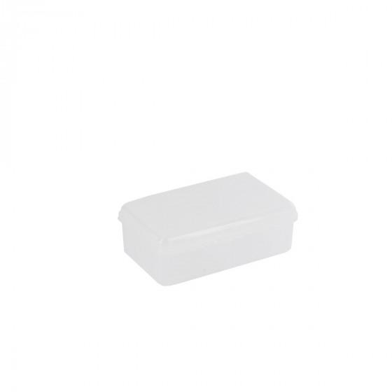 Boîte en plastique transparent à 7 compartiments (XS)