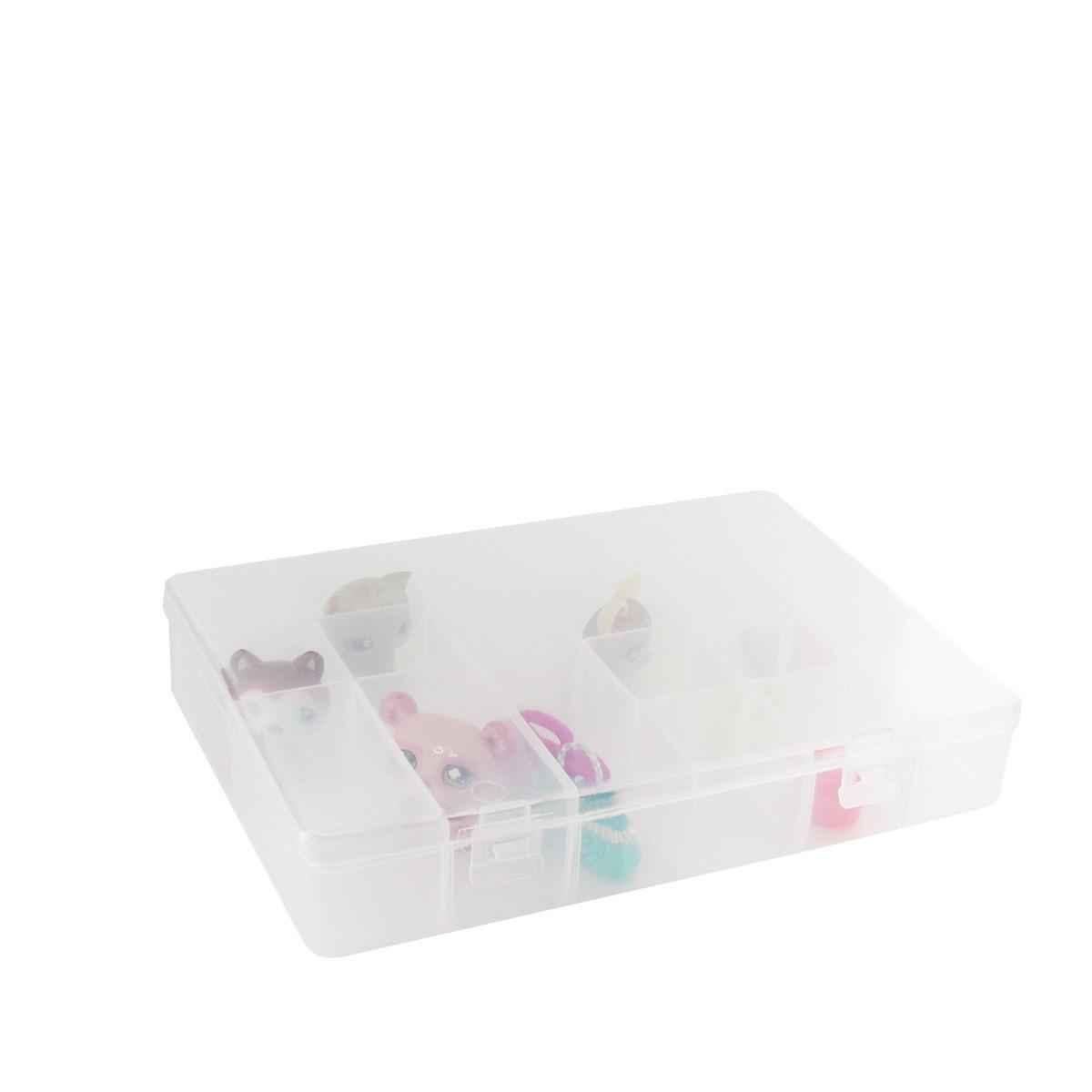 boite compartiments plastique rangement. Black Bedroom Furniture Sets. Home Design Ideas