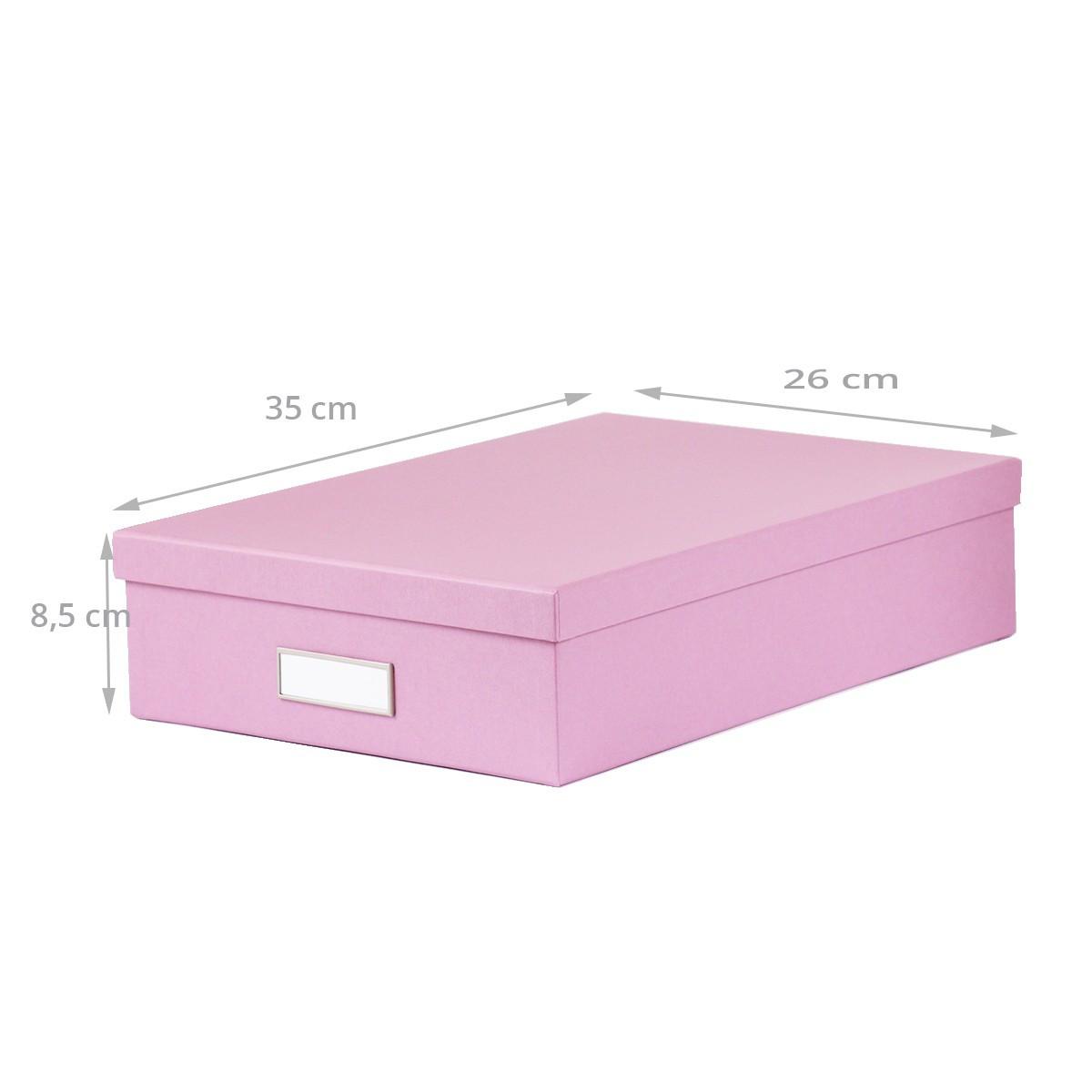 bo te a4 en carton lilas classement. Black Bedroom Furniture Sets. Home Design Ideas