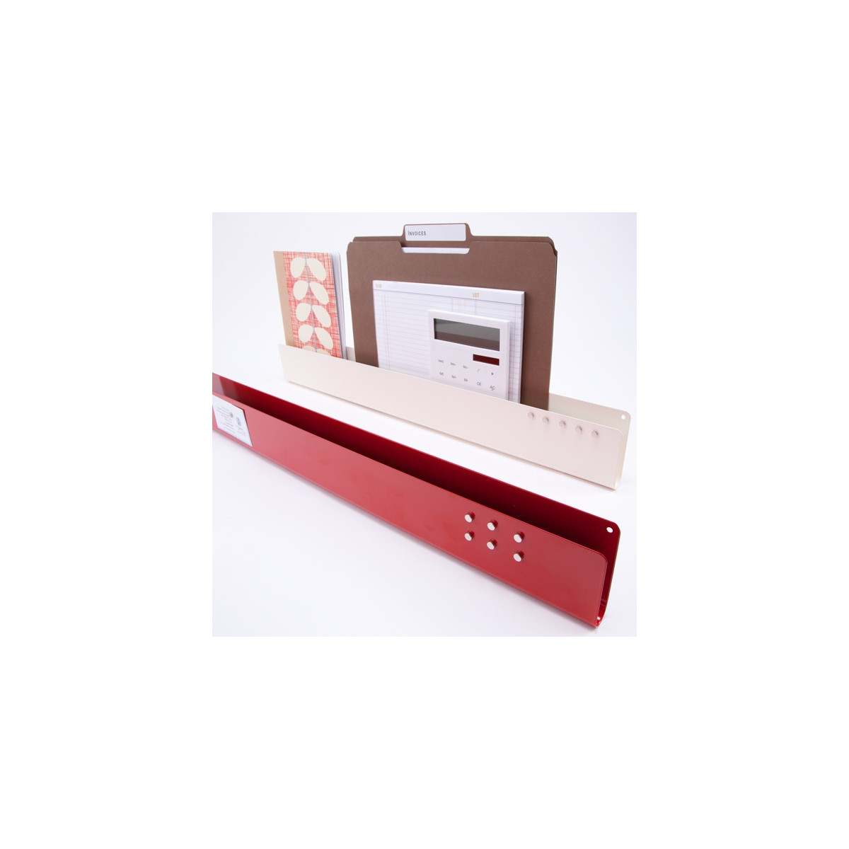 Vide poche mural rouge rangement courrier - Poche de rangement mural ...