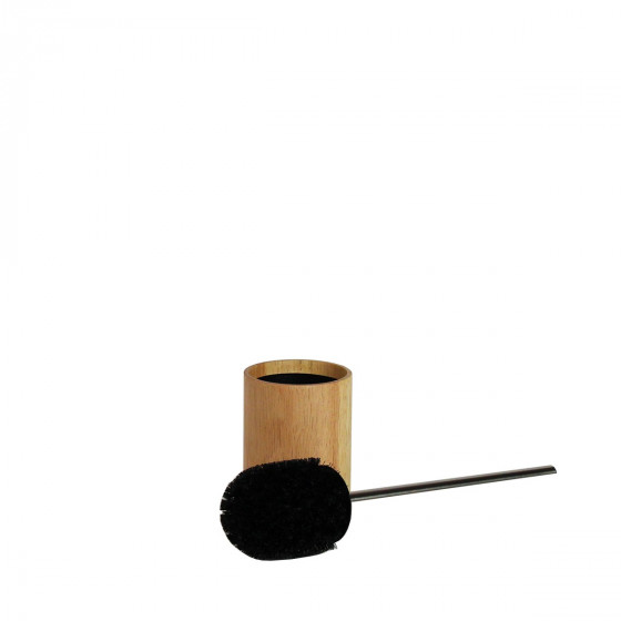 brosse wc avec support en bois rangement. Black Bedroom Furniture Sets. Home Design Ideas