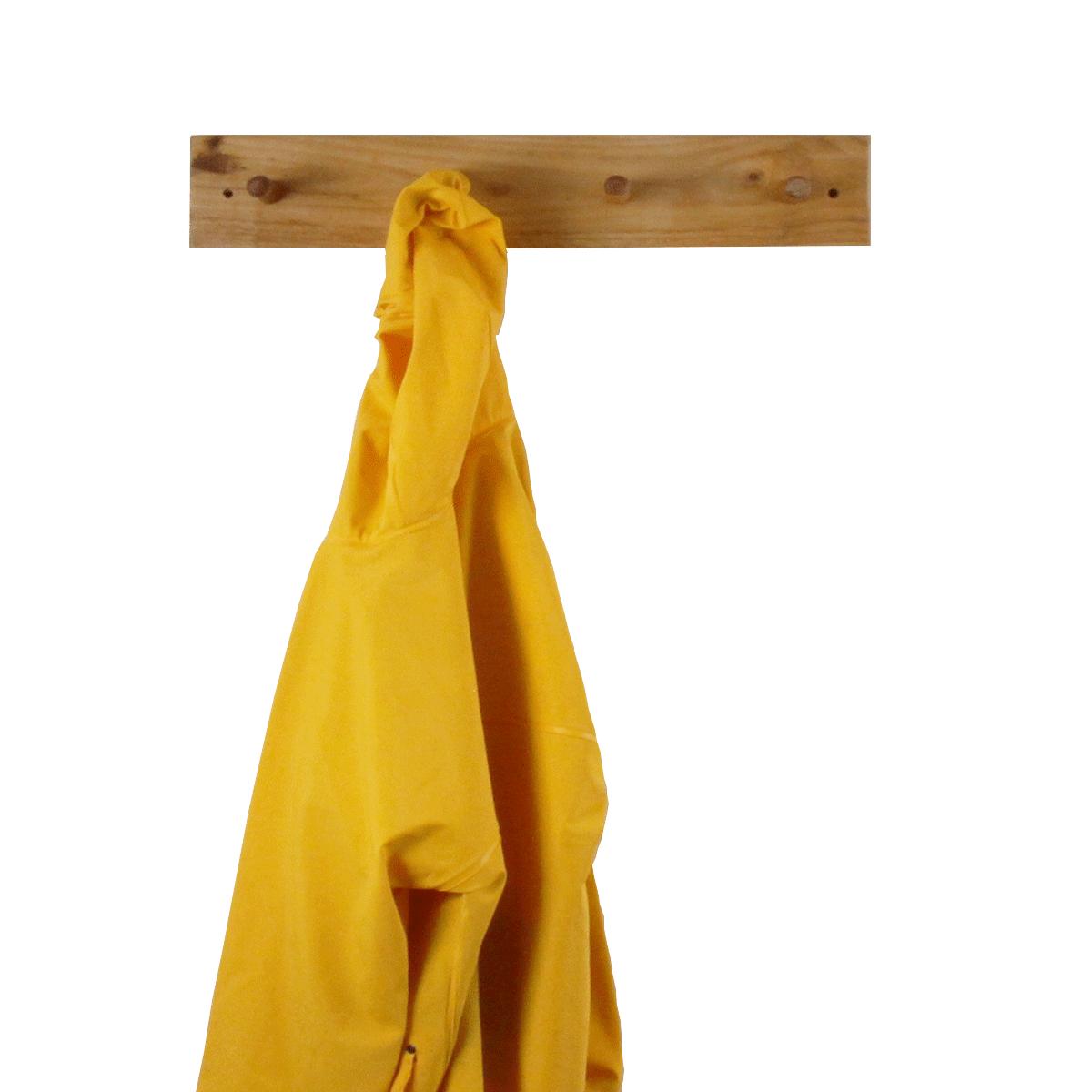 Porte manteau ch ne massif organisation - Porte manteau suspendu ...