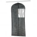Housse pour vêtements en intissé respirant gris (L)