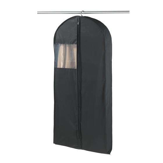 Large housse pour vêtements en polypropylène noir imperméable
