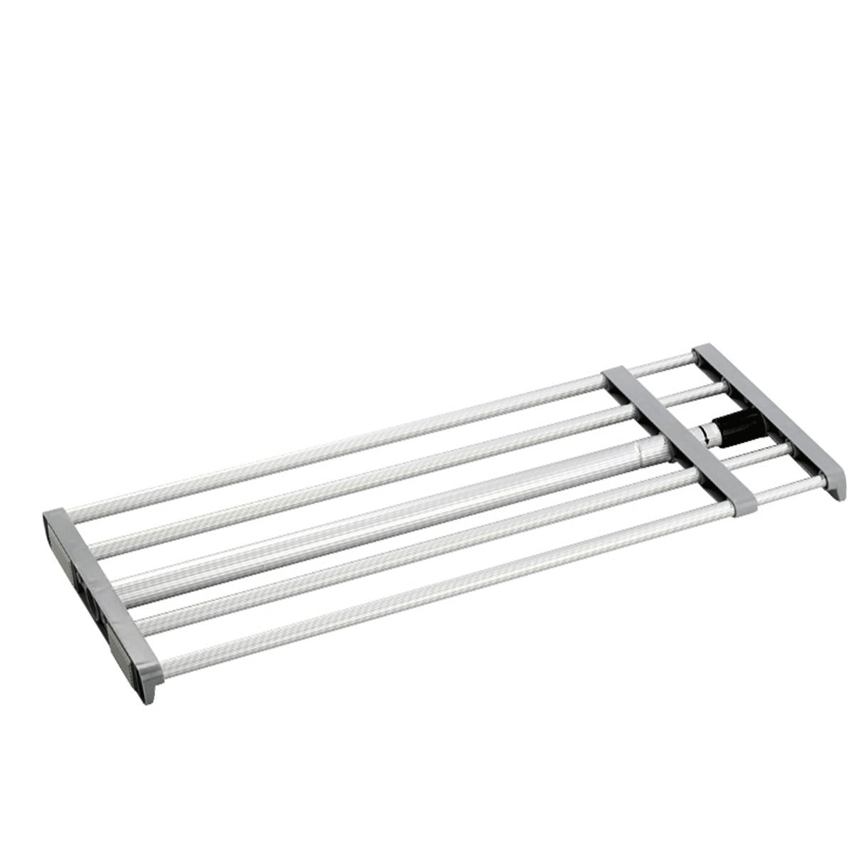 Etag re extensible pour placard rangement - Etagere aluminium cuisine ...