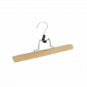 Cintre en bois pour pantalon ou jupe