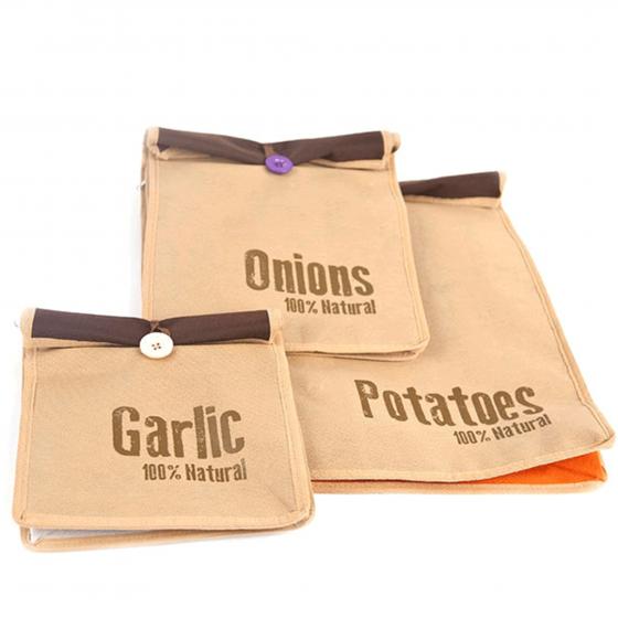 3 sacs conservation ail oignon pomme de terre - Pomme de terre conservation ...