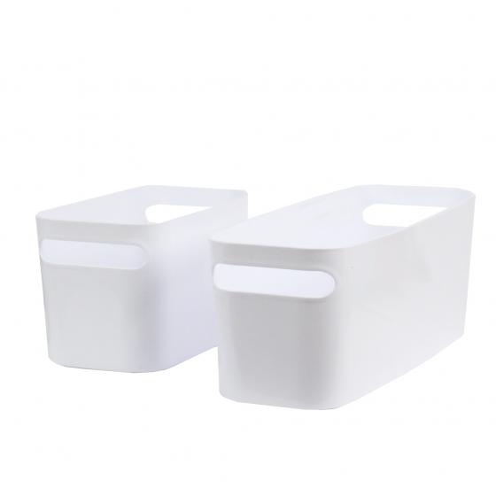 bac rectangulaire en plastique blanc. Black Bedroom Furniture Sets. Home Design Ideas