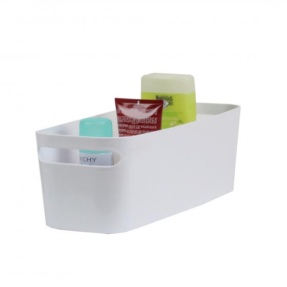 Pics photos banc de salle de bain en rotin bac a linge - Placard plastique rangement ...