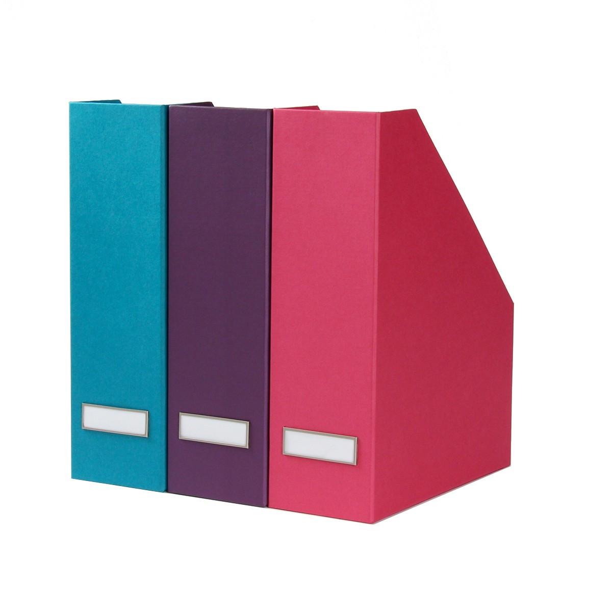 Range dossiers carton turquoise classement - Classement papier bureau ...
