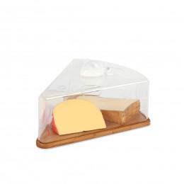 Cloche à fromages en bambou