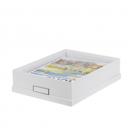Rangement papeterie boites porte lettres on range tout - Boite de rangement carton ikea ...