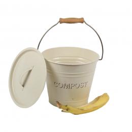 Poubelle à compost de cuisine 3 litres