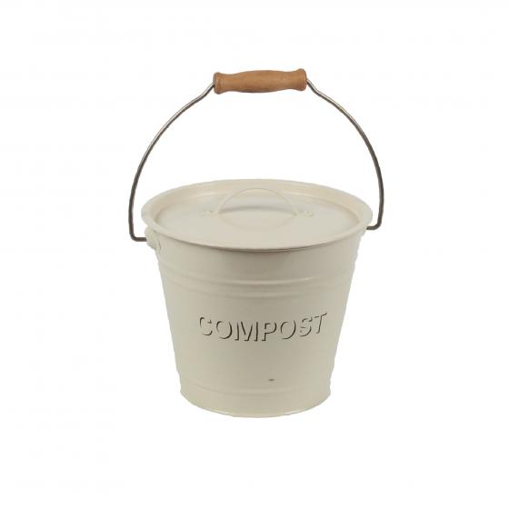 Poubelle compost seau 5 litres poubelle de cuisine for Seau compost cuisine