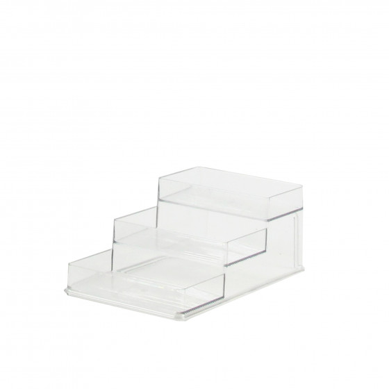 etagere a epice en plastique transparent pour placard. Black Bedroom Furniture Sets. Home Design Ideas