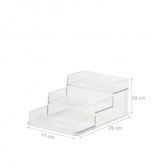 etagere a epice en plastique transparent pour placard. Black Bedroom Furniture Sets. Home Design Ideas