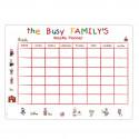 Planning magnétique pour toute la famille