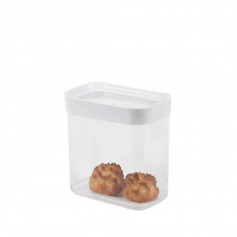 Boîte de rangement alimentaire hermétique en plastique. 1 litre.