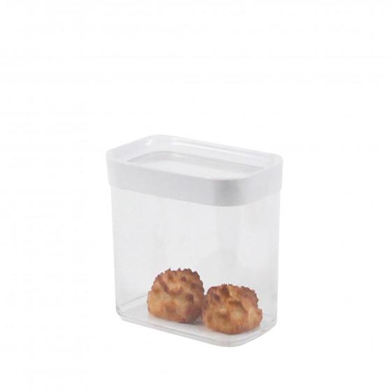 rangement aliments bo te empilable plastique 1 litre. Black Bedroom Furniture Sets. Home Design Ideas