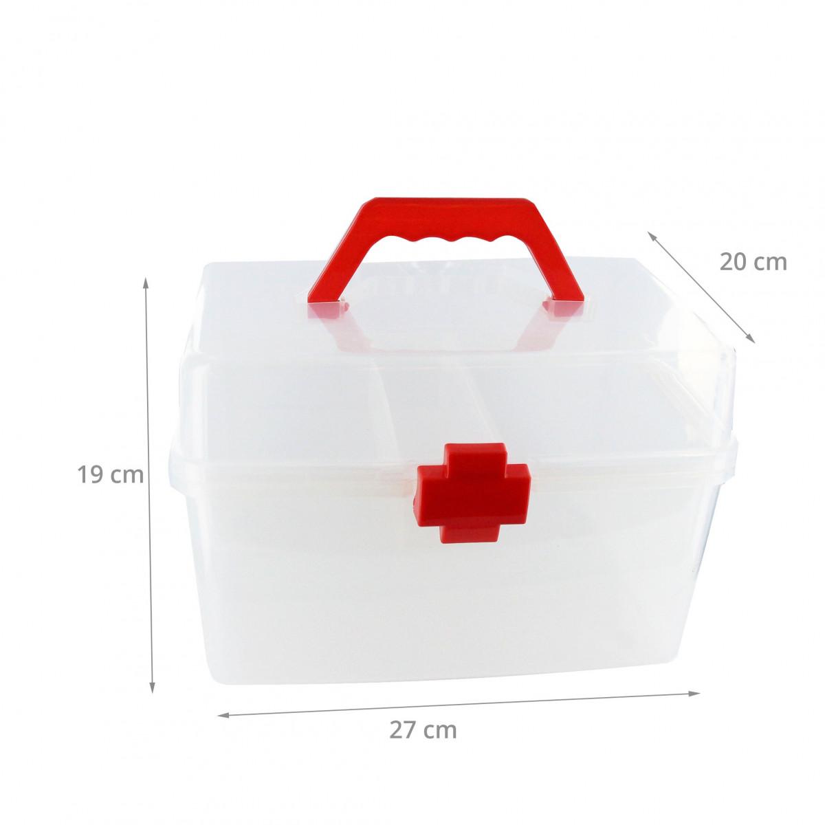 boite pharmacie en plastique croix rouge. Black Bedroom Furniture Sets. Home Design Ideas