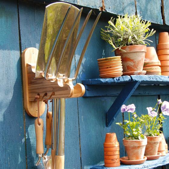 porte outils de jardin mural livraison possible par colissimo en 48h. Black Bedroom Furniture Sets. Home Design Ideas