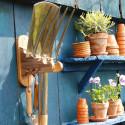 Porte outils de jardin mural