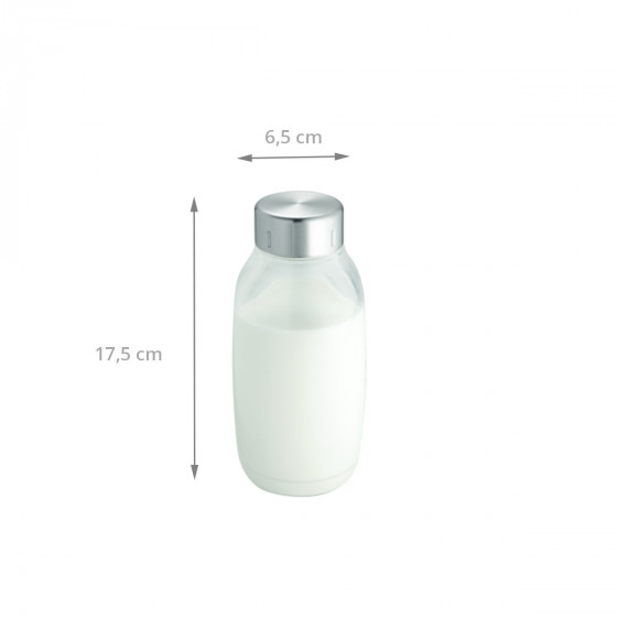 Bouteille en plastique pour réfrigérateur 0,5 litre