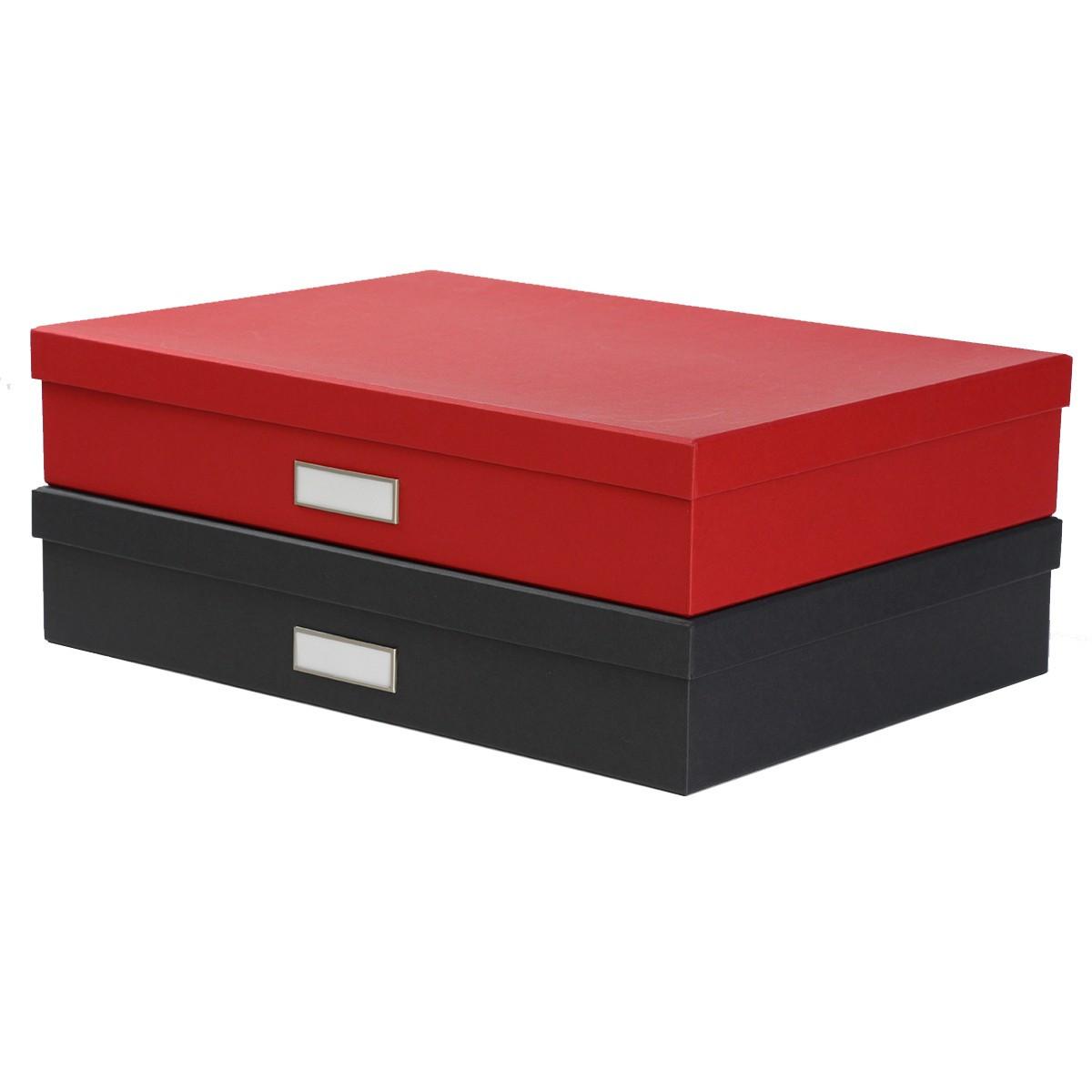 Bo te a3 en carton rouge classement - Carton a dessin a3 ...