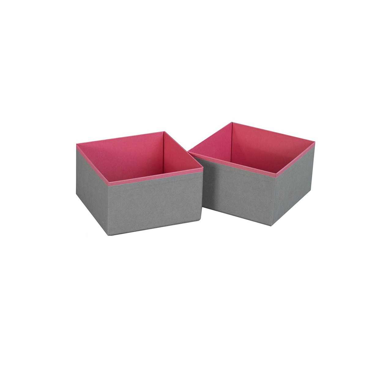 organiseurs de tiroir carton gris fuchsia rangement v tements. Black Bedroom Furniture Sets. Home Design Ideas