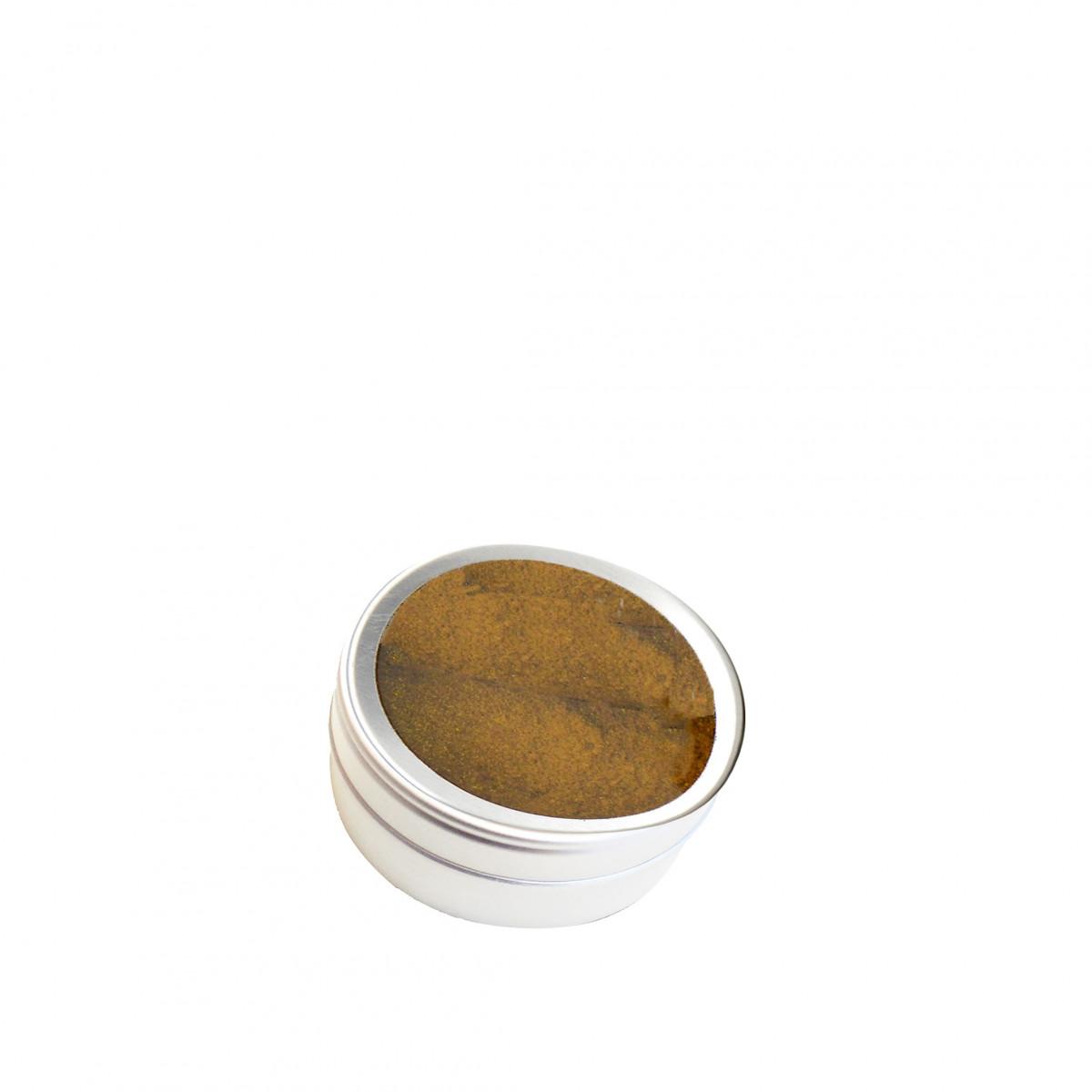 Boite Rangement Enfant : Boîte métal ronde avec fenêtre rangement
