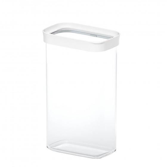Boite de rangement alimentaire empilable en plastique. 2,8 litres