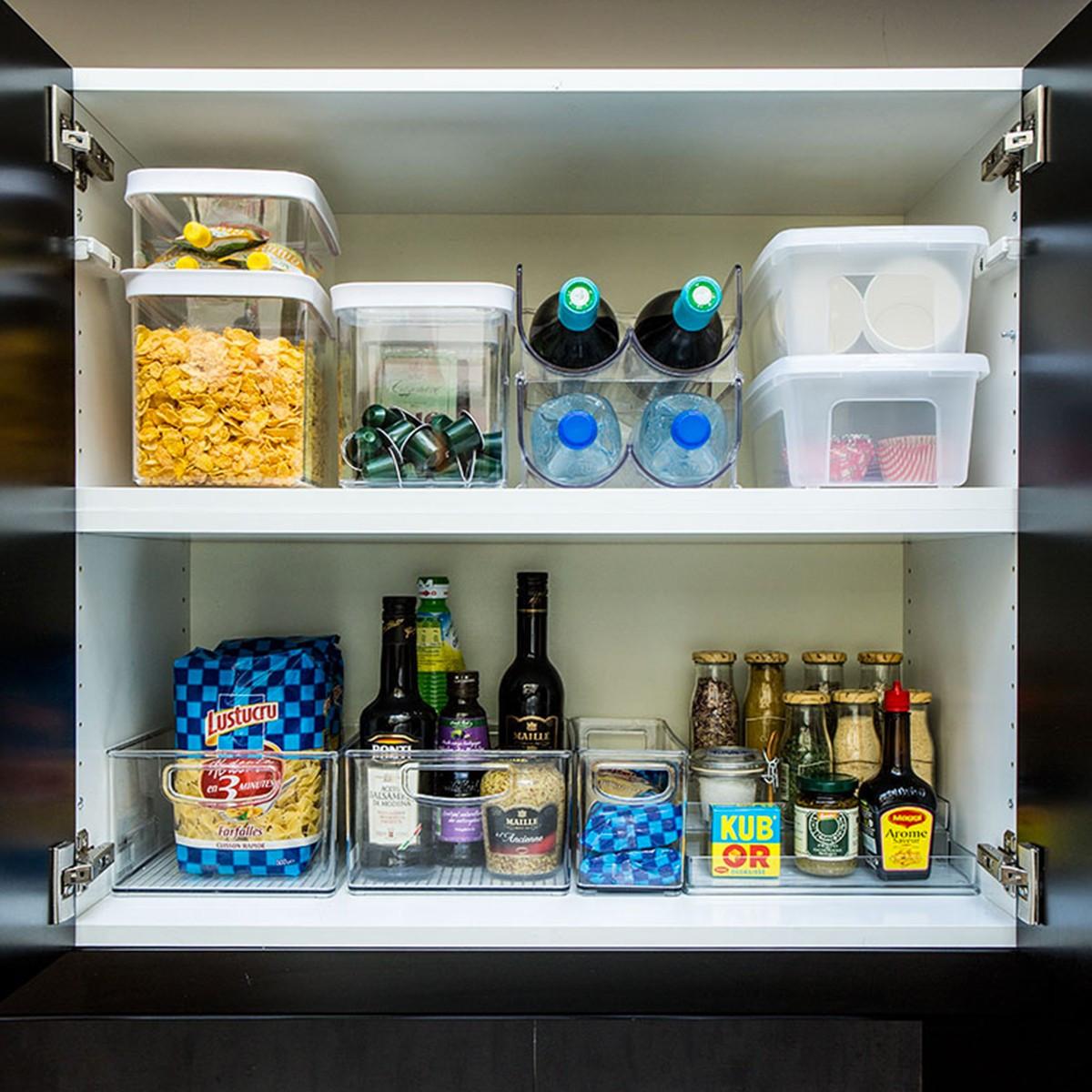 Range bouteilles empilable r frig rateur - Range bouteille pour cuisine ...