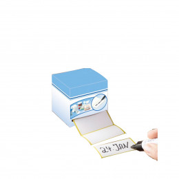 Rouleau de 500 étiquettes adhésives
