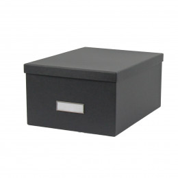 bo tes de rangement en carton on range tout. Black Bedroom Furniture Sets. Home Design Ideas