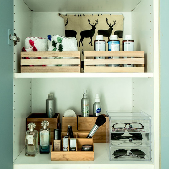Cagette bois  Organisation tiroir & placard ~ Mini Cagette En Bois