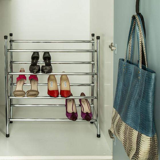 Etagère à chaussures, extensible et superposable