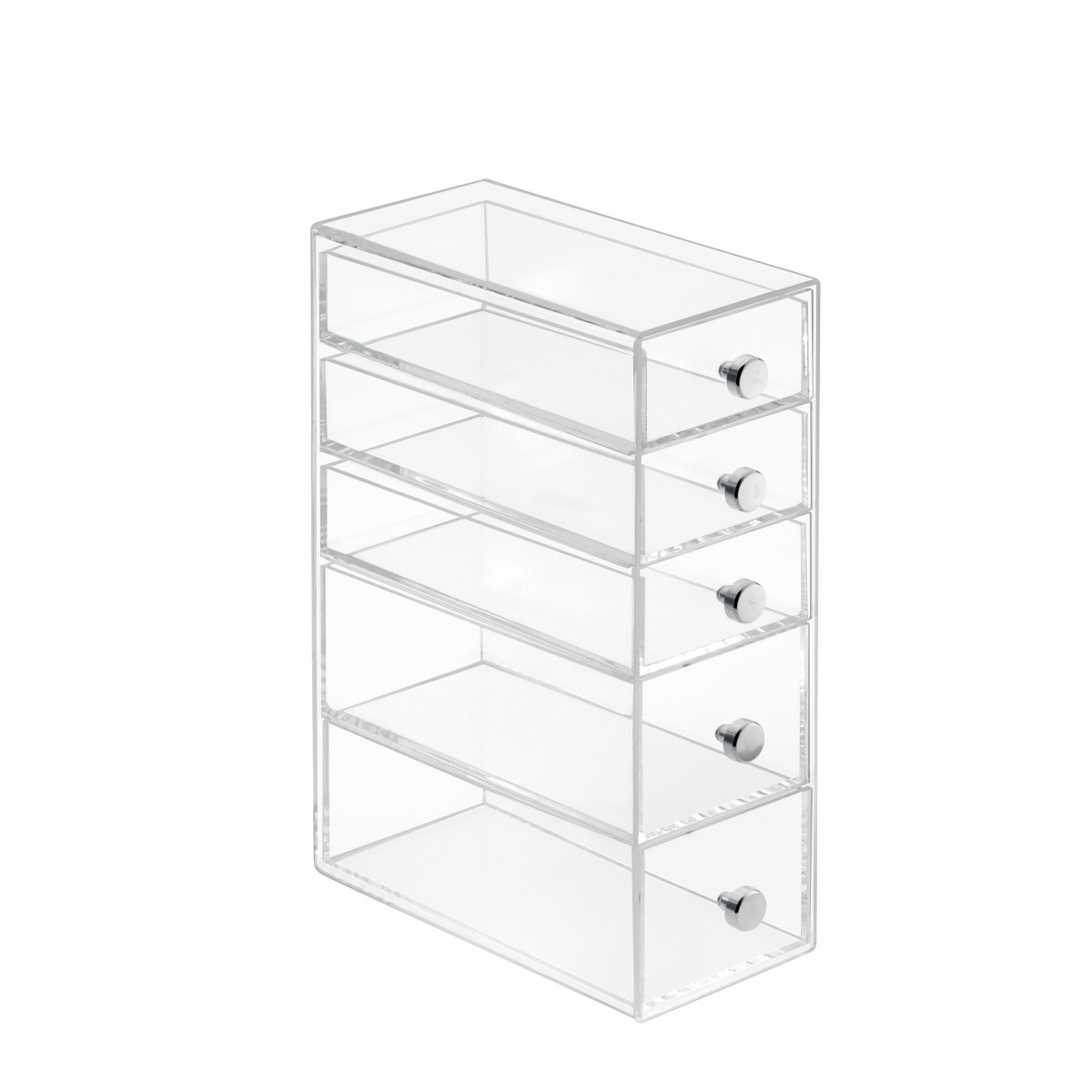bo te tiroirs transparente rangement maquillage. Black Bedroom Furniture Sets. Home Design Ideas