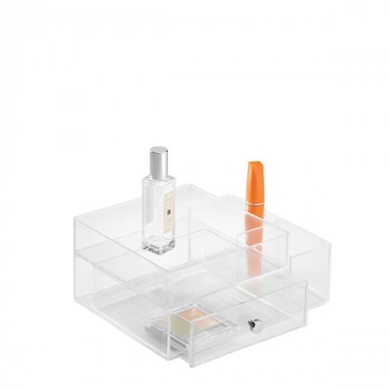 Bo te acrylique transparent rangement maquillage - Rangement maquillage en acrylique ...