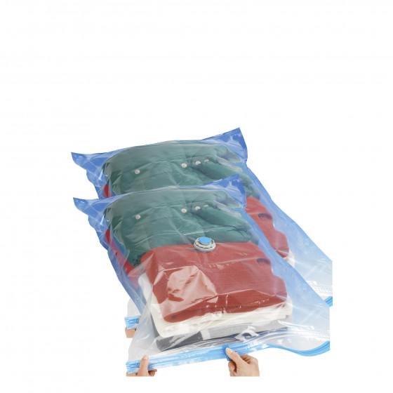 2 sacs de rangement sous vide. Taille M