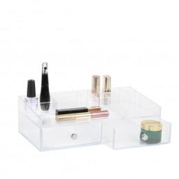 Bo te de rangement pour maquillage avec tiroirs et - Organisateur de maquillage ...