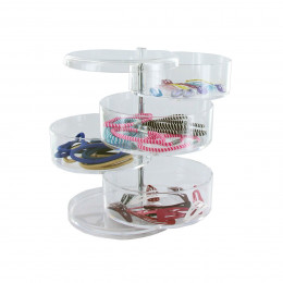 Bo tes de rangement en acrylique on range tout - Rangement acrylique maquillage ...