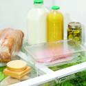 Boîte empilable avec couvercle pour le réfrigérateur.