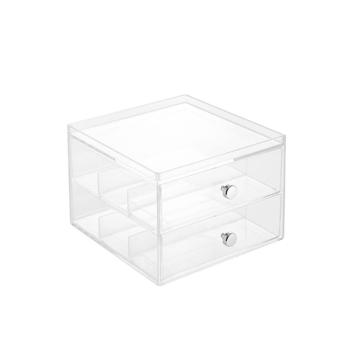 bo te de rangement 2 tiroirs pour lunettes on range tout. Black Bedroom Furniture Sets. Home Design Ideas