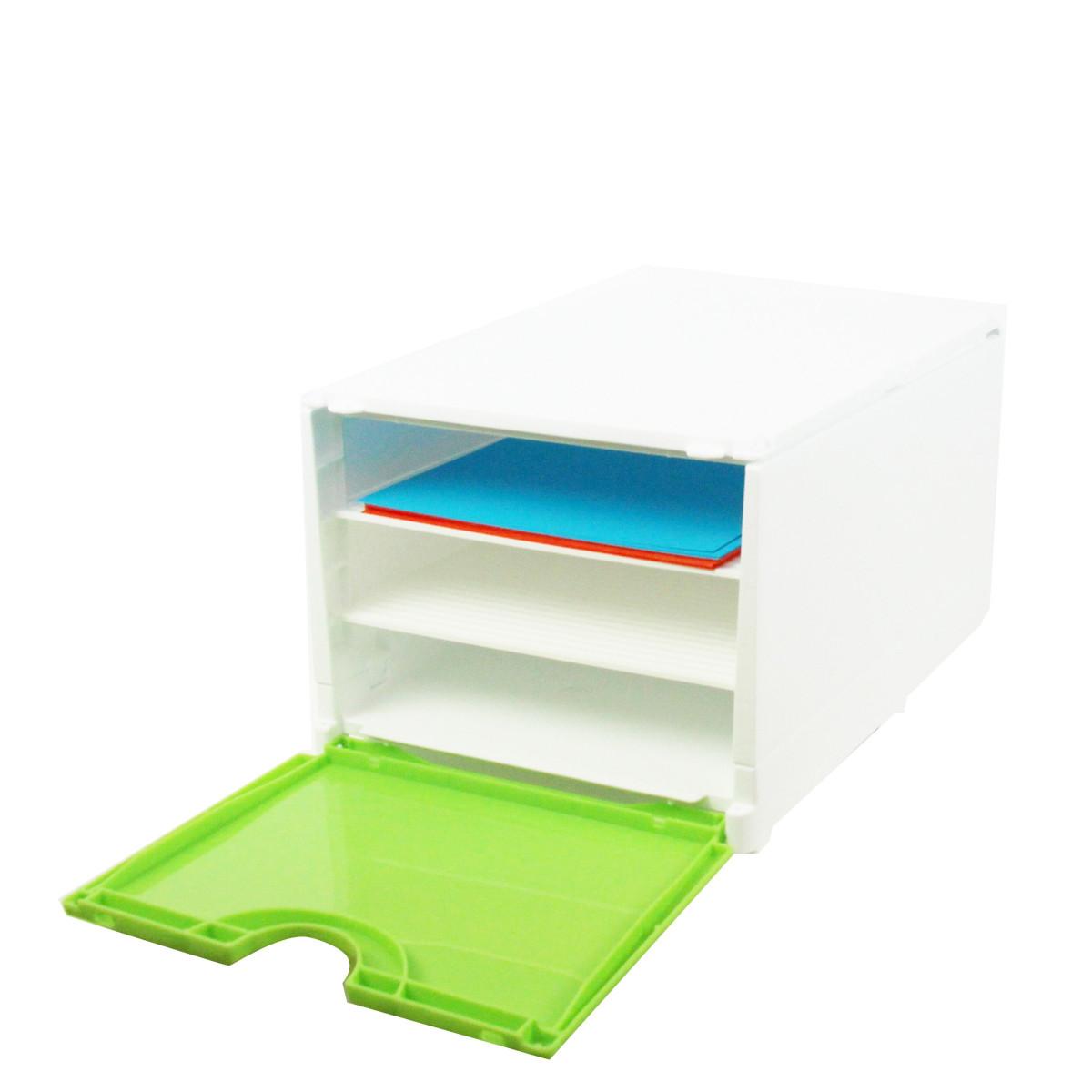 module de classement vert rangement bureau. Black Bedroom Furniture Sets. Home Design Ideas
