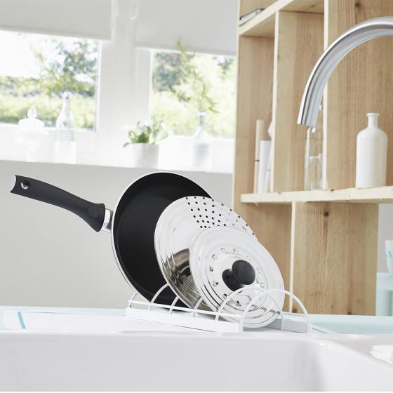rack couvercles assiettes rangement cuisine. Black Bedroom Furniture Sets. Home Design Ideas