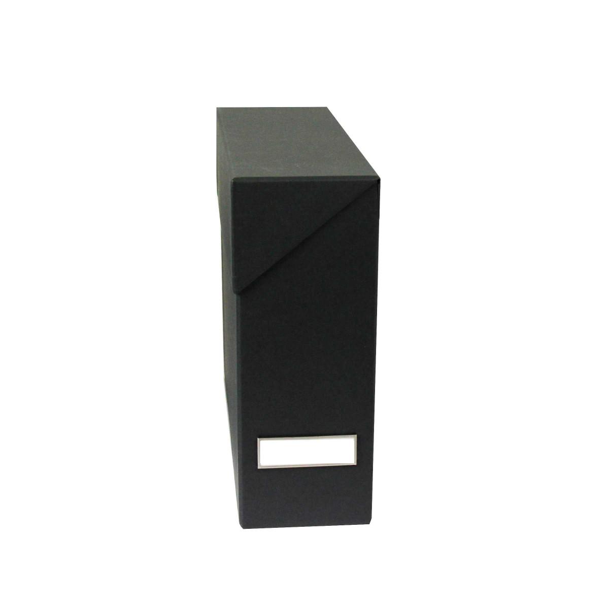 Bo te classement carton gris anthracite rangement bureau - Bureau gris anthracite ...